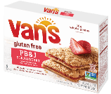 Van's Foods Snack Bars Strawberry Penut Butter & Jelly