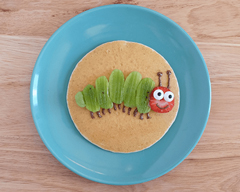 Caterpillar Pancakes