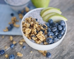 Chia Seed and Granola Bowl